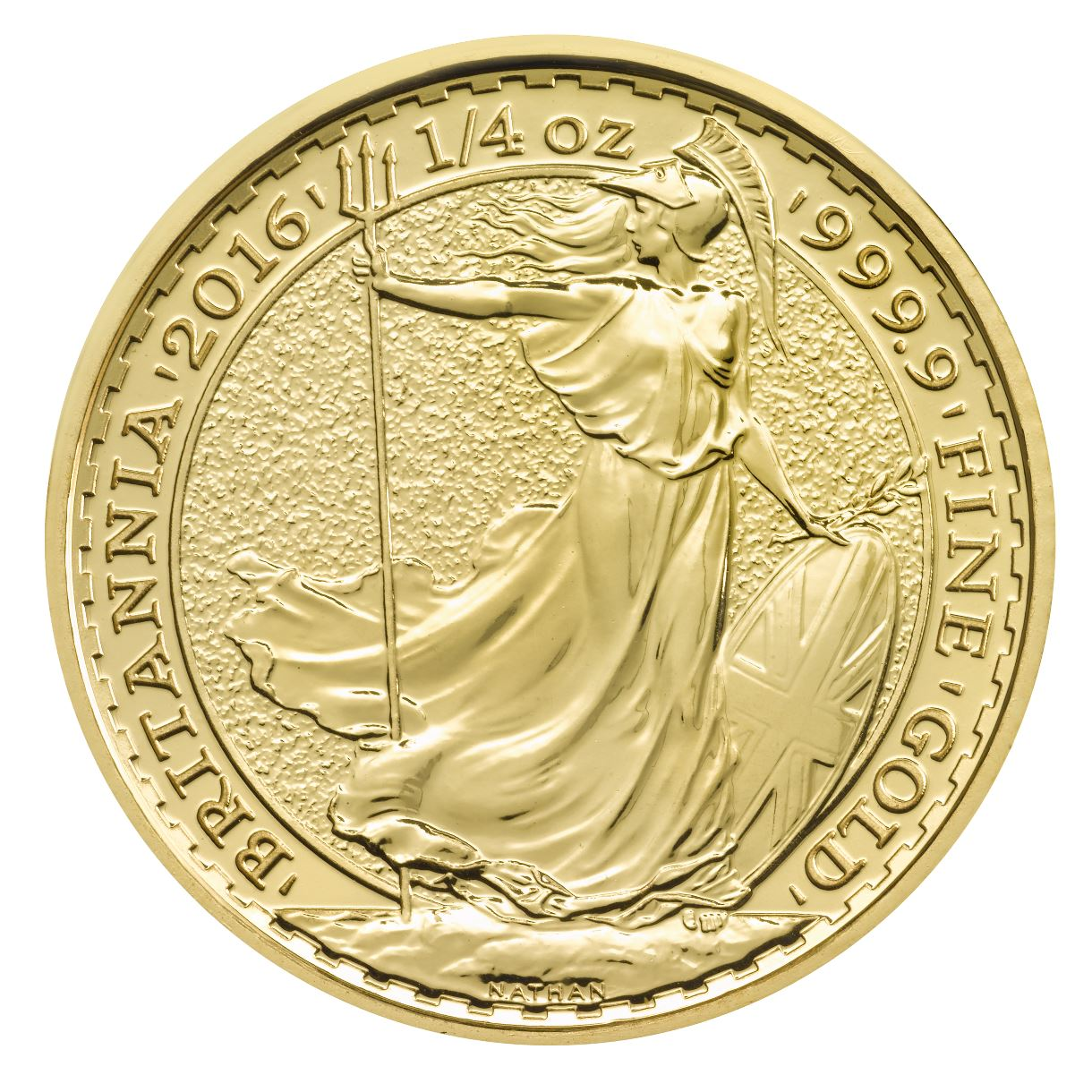 2016 Quarter Ounce Britannia Gold Coins