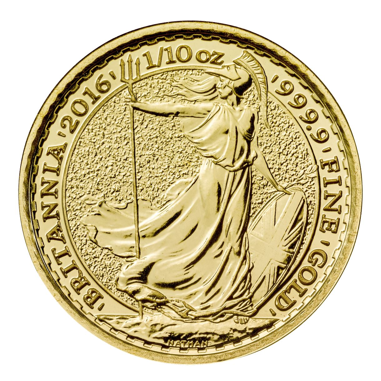 2016 Tenth Ounce Gold Britannia