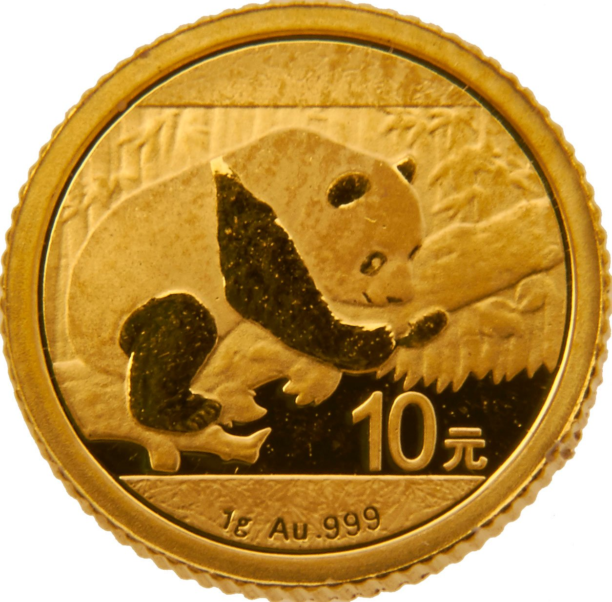 2016 1 Gram Gold Chinese Panda Coin