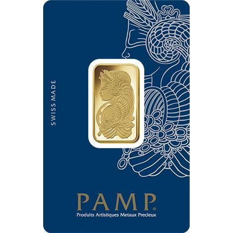 Pamp Half Ounce Gold Bar Bullionbypost From 163 525