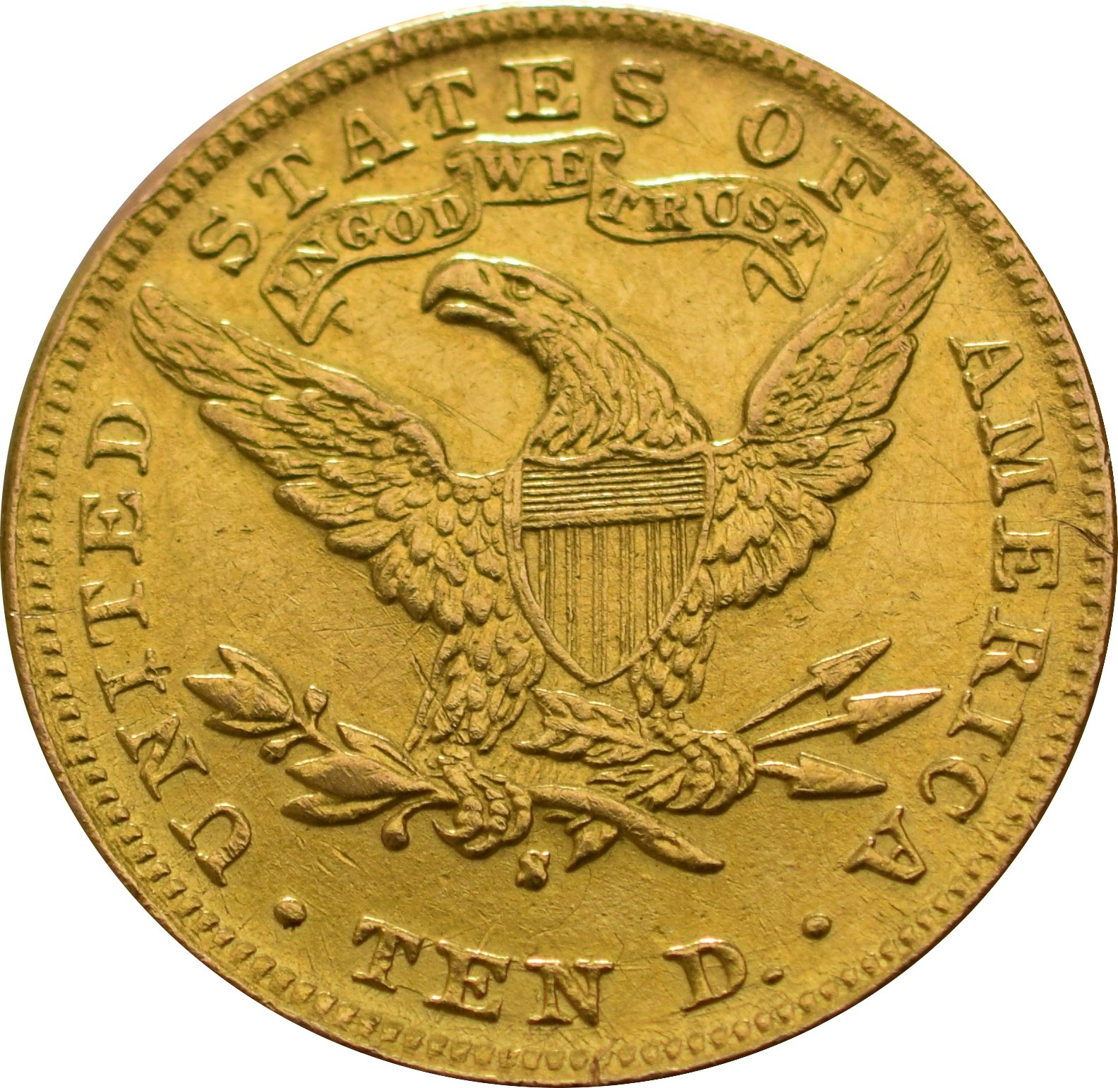 American Gold Eagle 10 Best Value 163 542