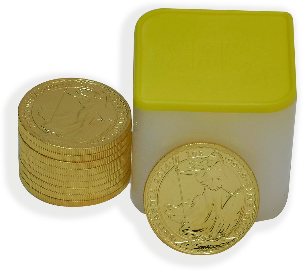 Buy A Complete Box Of 100 Gold Britannia 1oz Coins