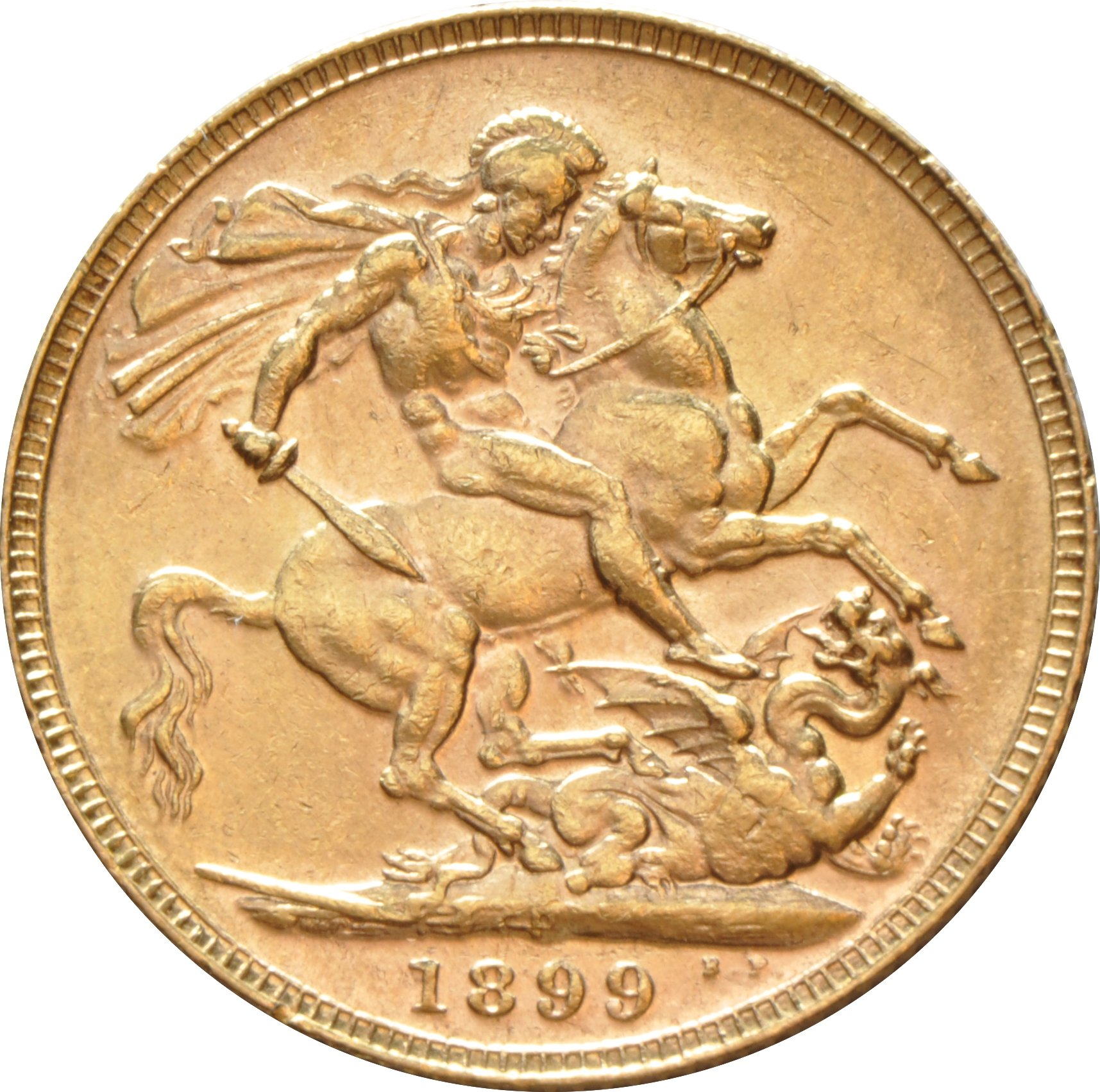 1899 Gold Sovereign Victoria Old Head P 163 481