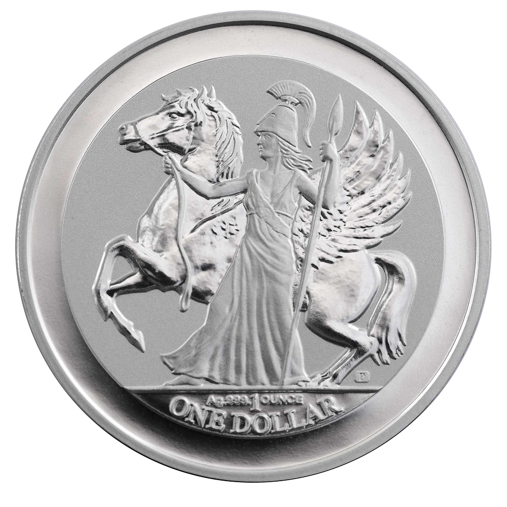 Buy A Pegasus 2017 Reverse Proof Silver 1oz Coin With Gift