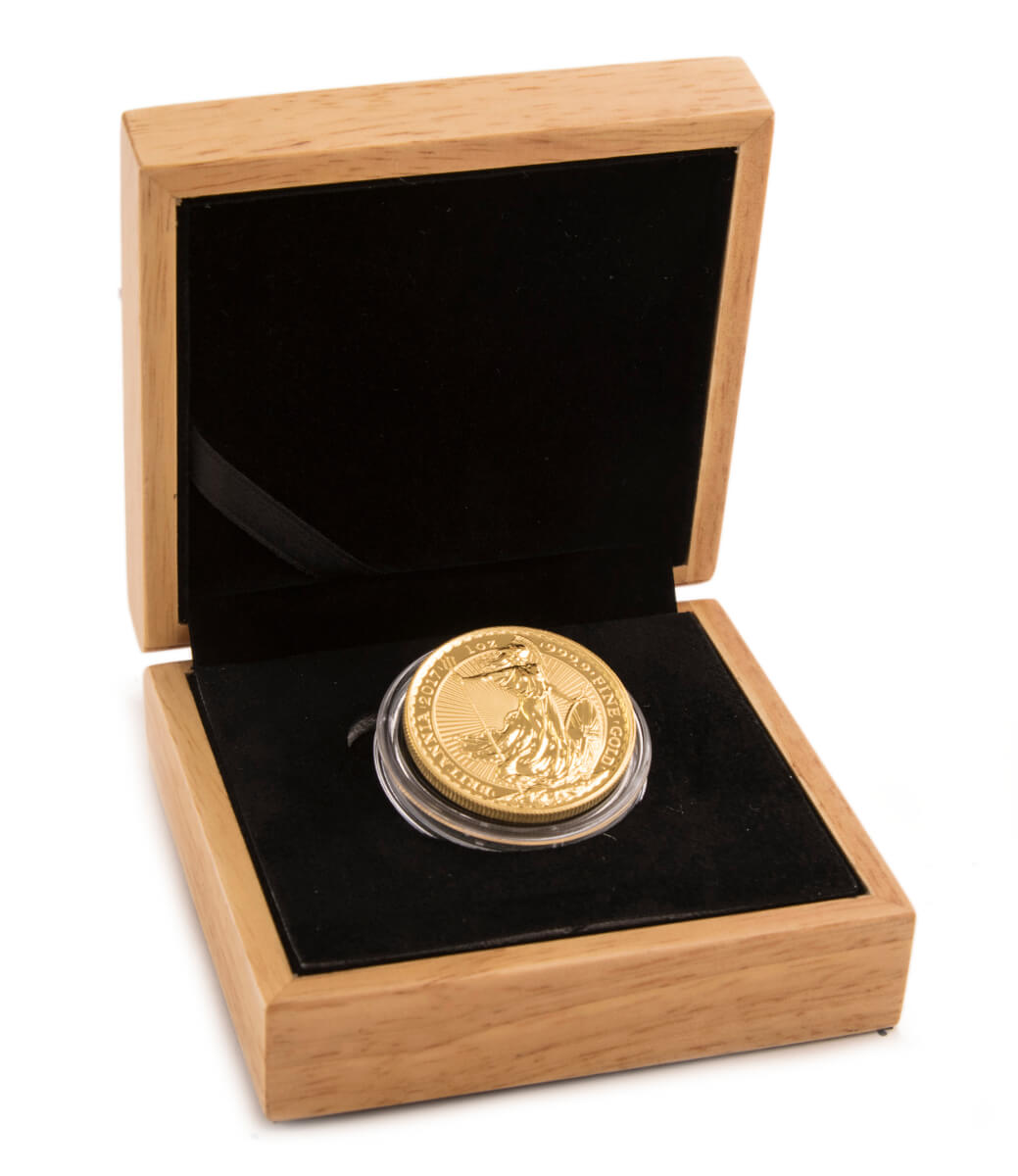 2017 Gold Britannia One Ounce - Boxed