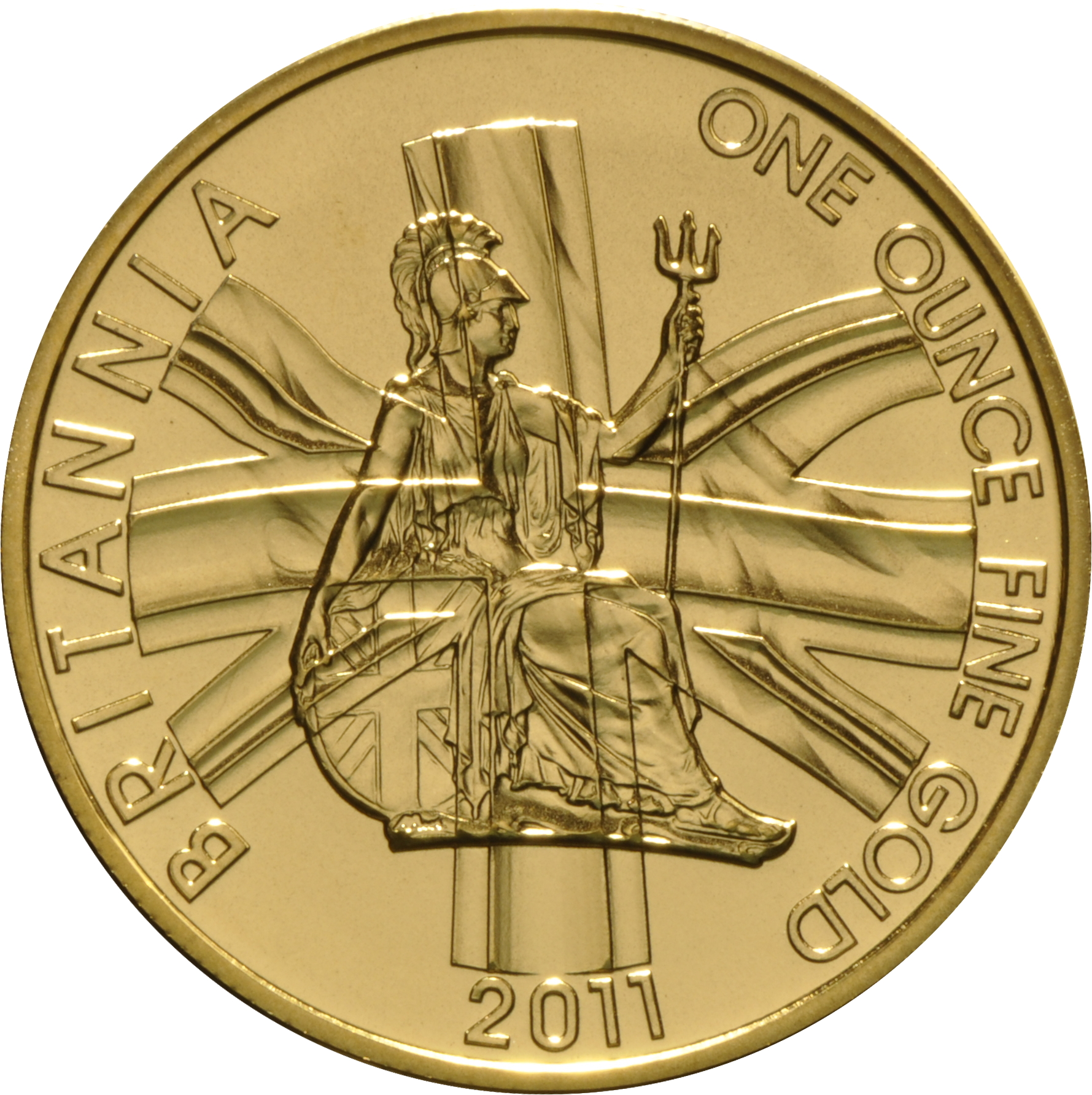 2011 Gold Britannia One Ounce Coin