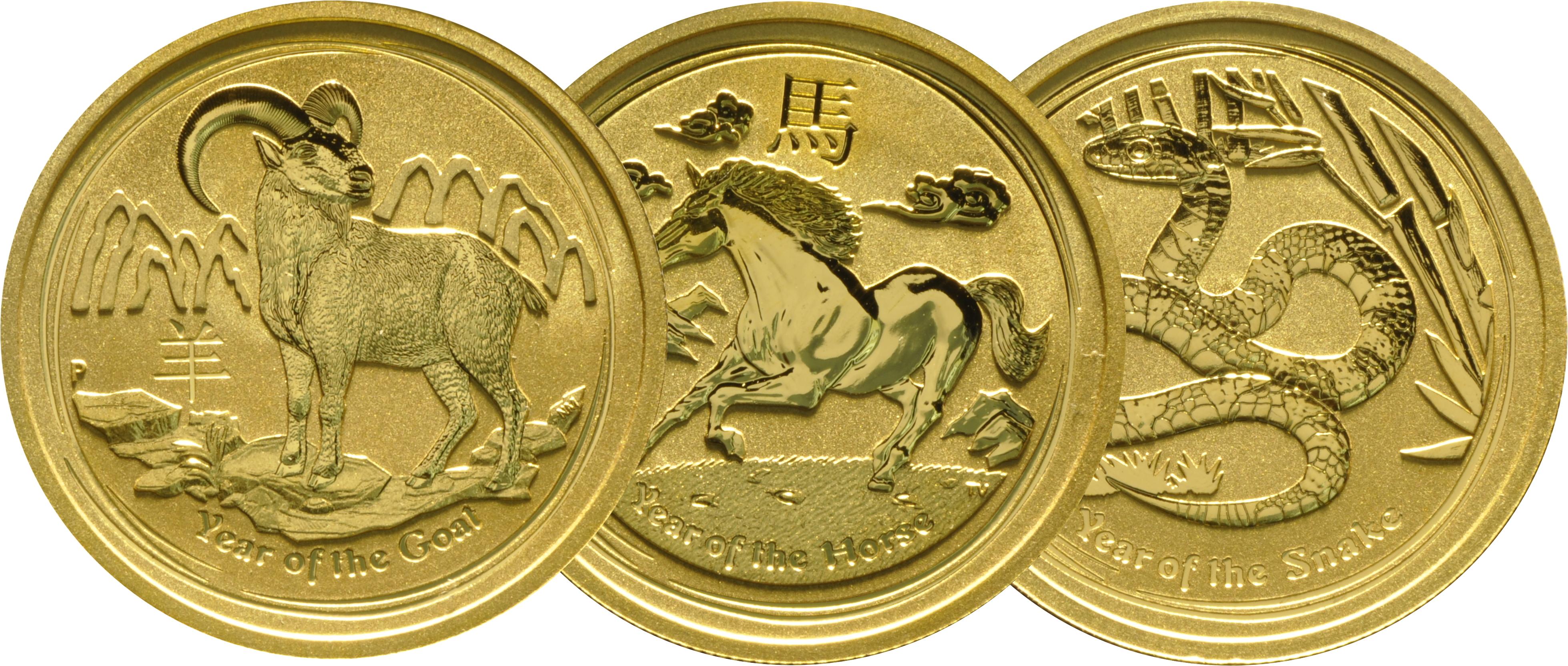 Best Value - Perth Mint Lunar Half Ounce Gold Coin
