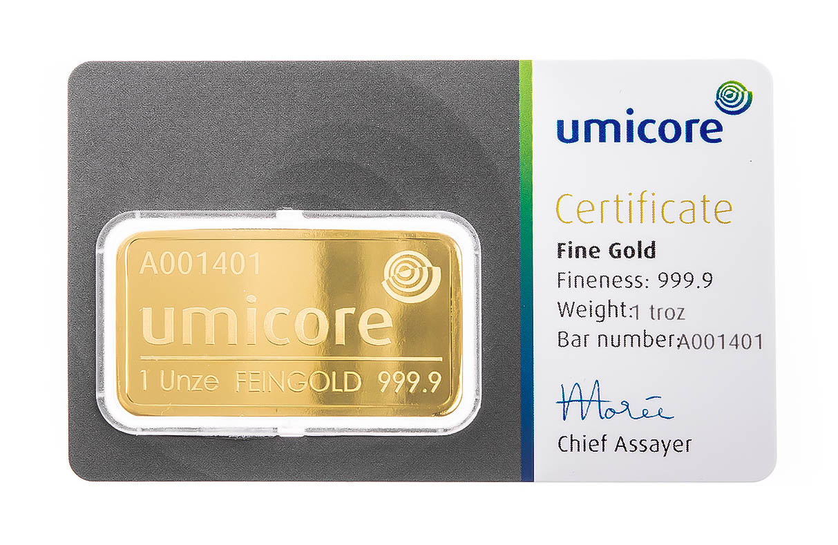Buy 1oz Fine Gold Bars From Bullionbypost Uk From 163 1 019