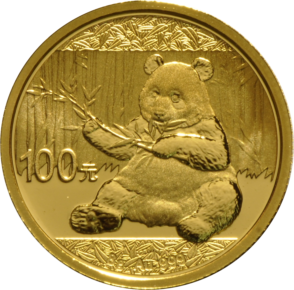 2017 8 Gram Gold Chinese Panda Coin From 163 318