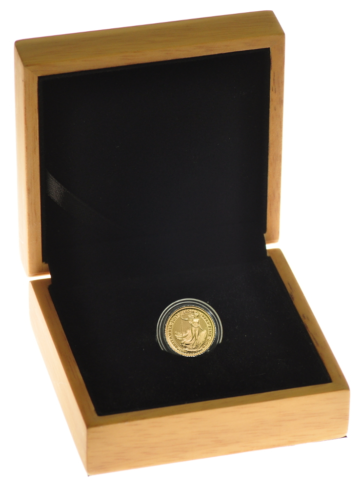 2017 Tenth Ounce Gold Britannia in Gift Box