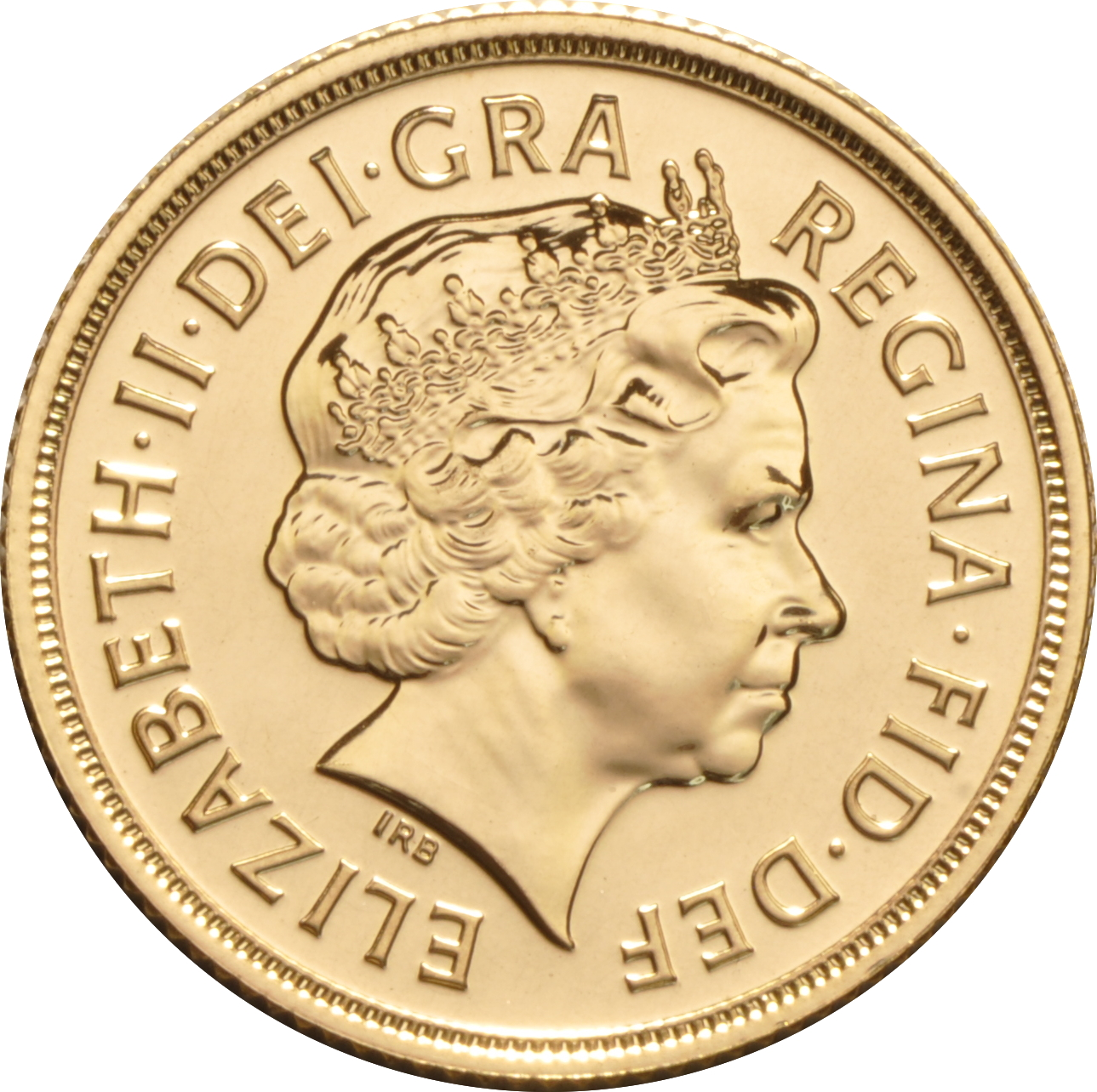 Sovereign - Elizabeth II, Fourth Head