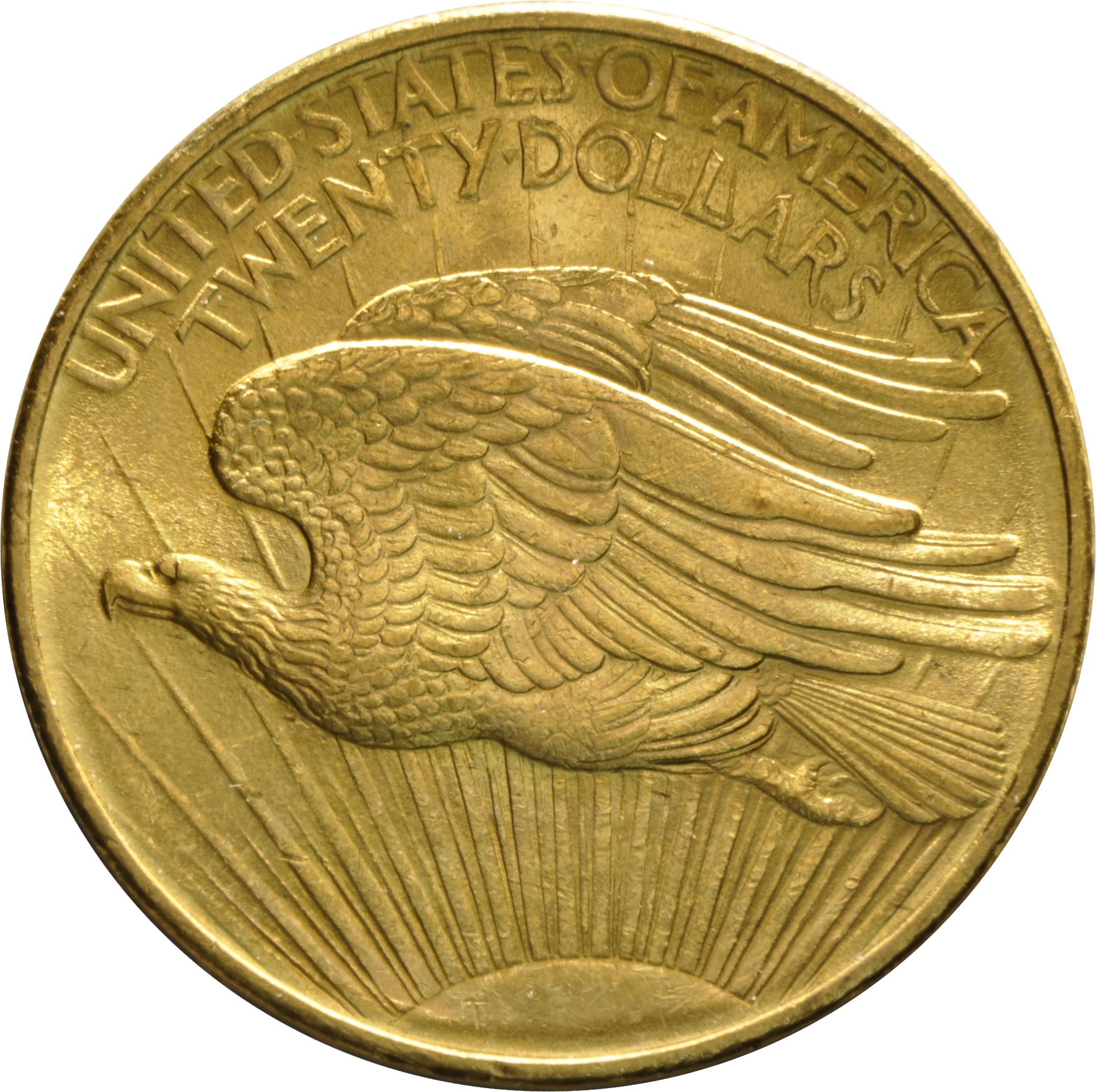 1908 20 Double Eagle St Gaudens Gold Coin Philadelphia No