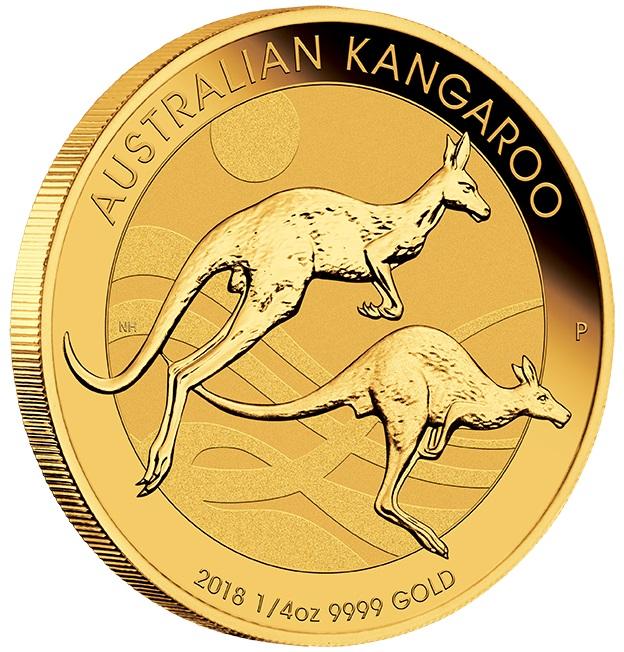 2018 Quarter Ounce Gold Australian Nugget