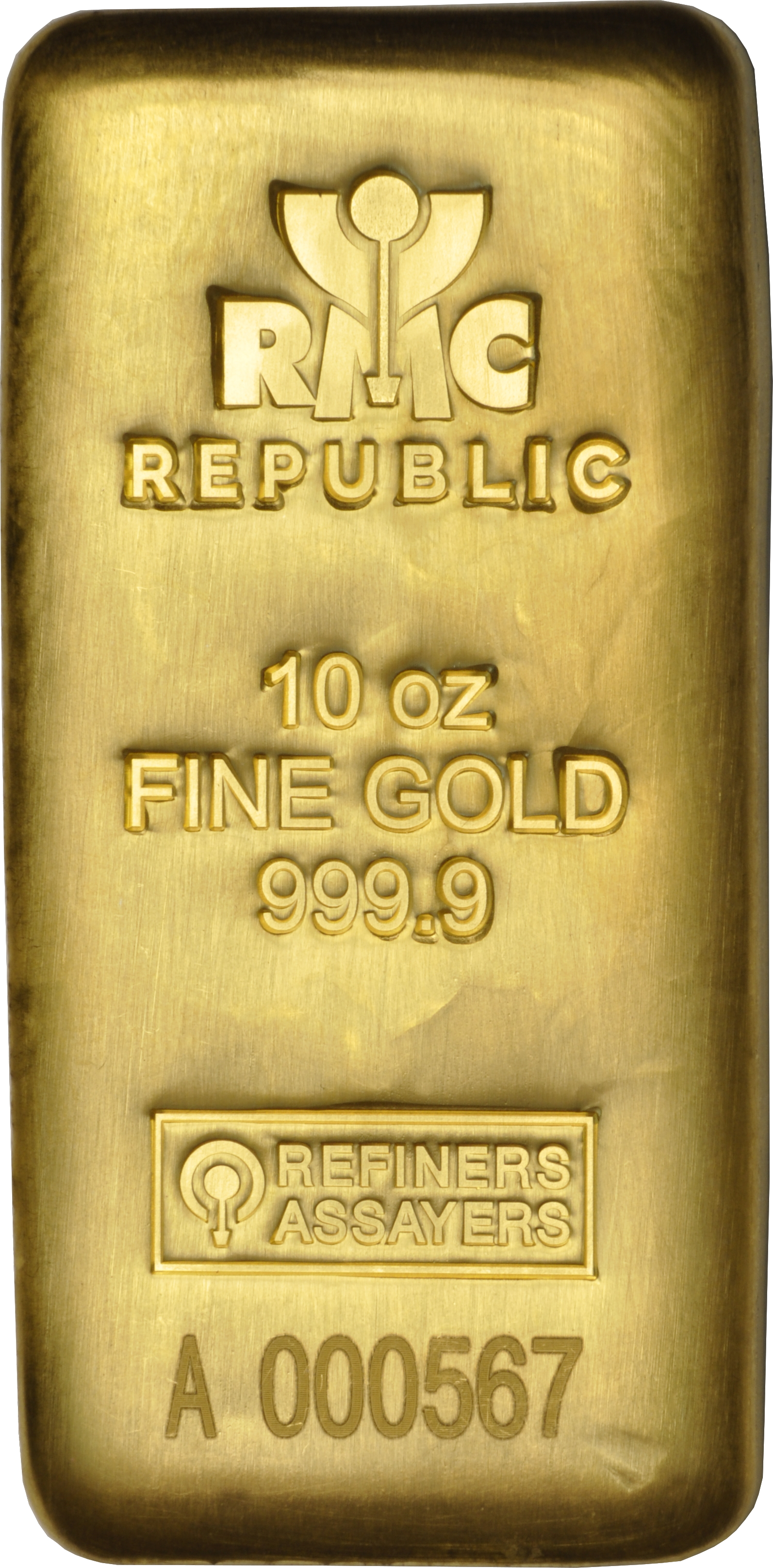 RMC 10oz Gold Bar