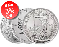 3% OFF Best Value Silver Coins