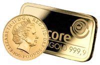 Buy Gold Bullion Bars & Coins