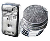Buy Silver Bars & Silver Coins