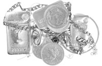 Sell Silver Bars, Coins & Scrap
