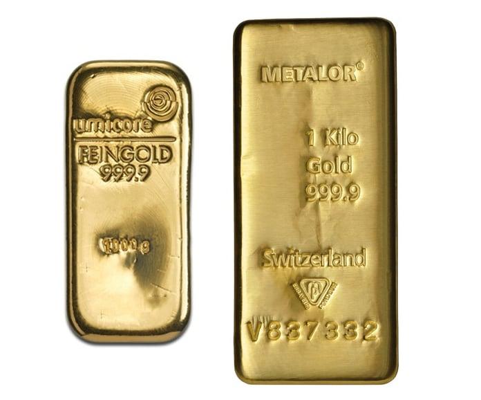 1kg Gold Bars Best Value (Brand New)