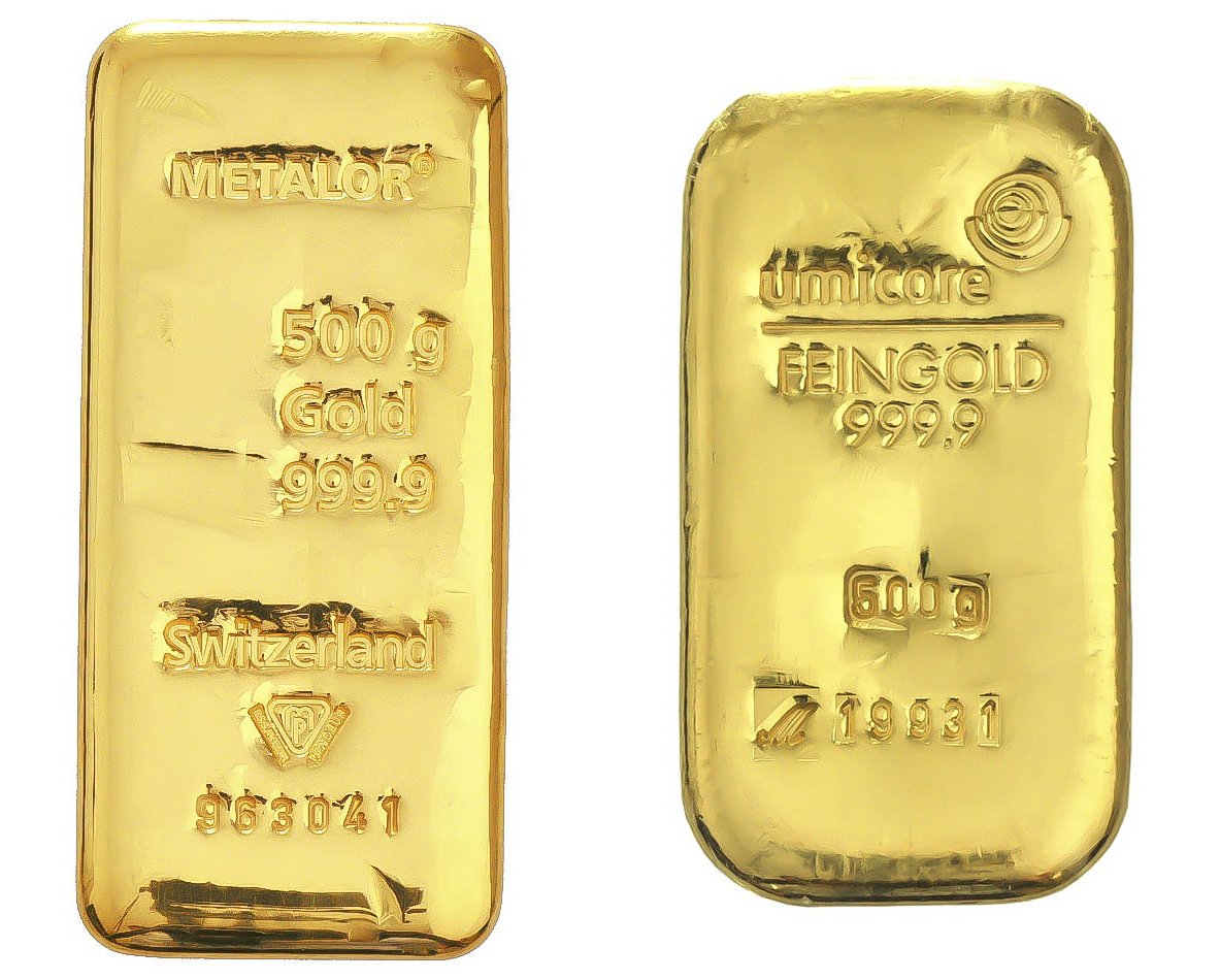500g Gold Bars Buy 500 Gram Gold Bar Bullionbypost From 26 101