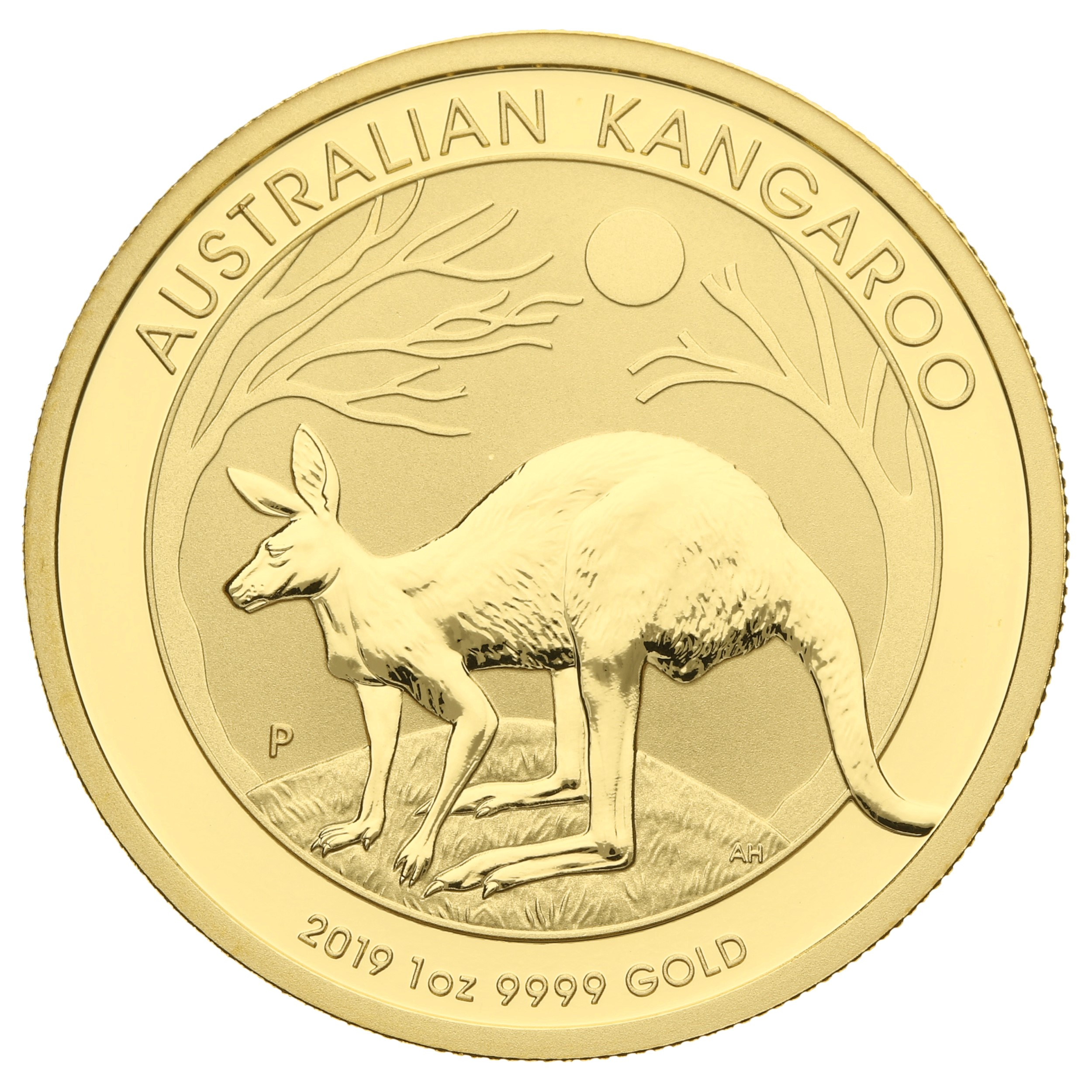 2019 1oz Gold Australian Nugget