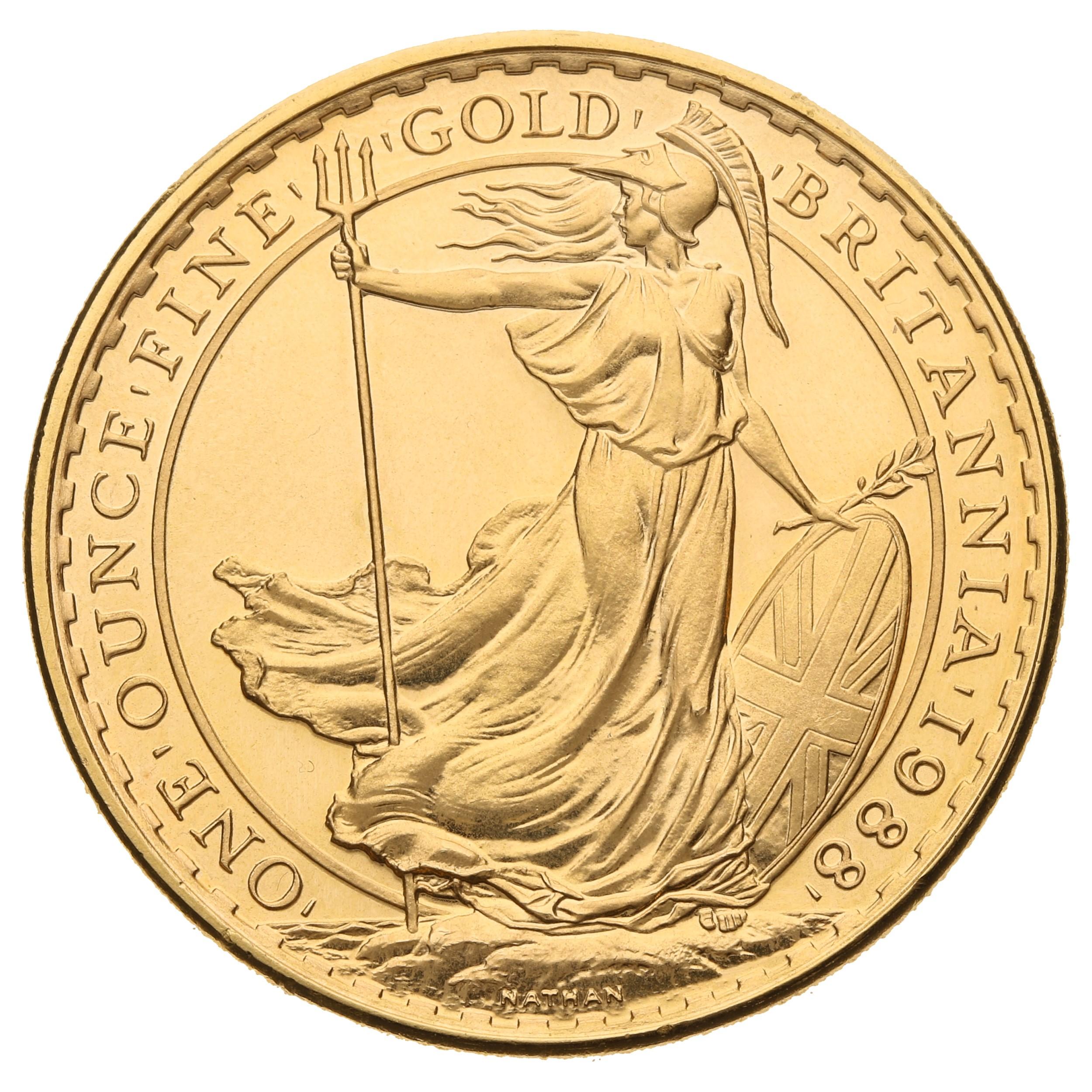 1988 Gold Britannia One Ounce Coin