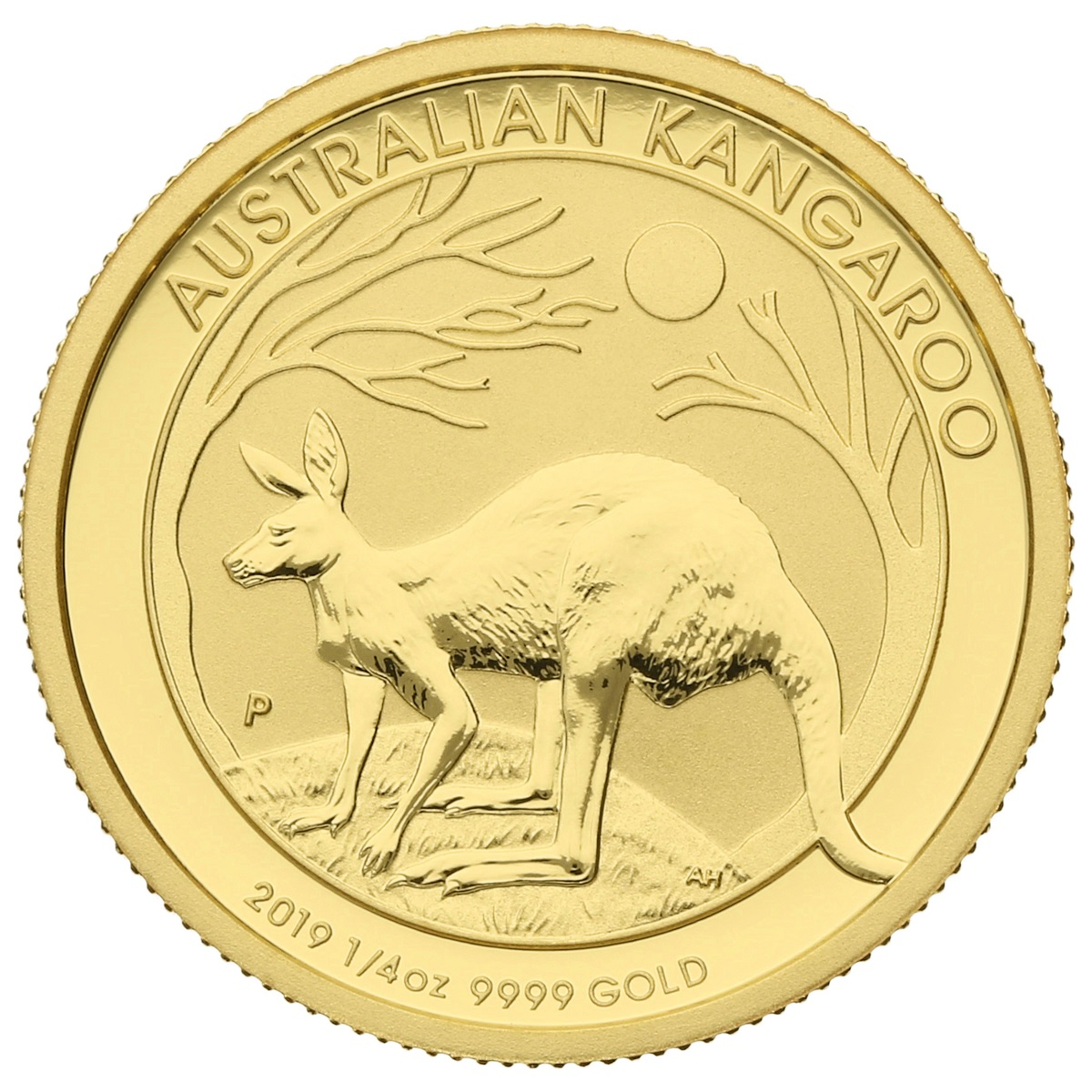 2019 Quarter Ounce Gold Australian Nugget
