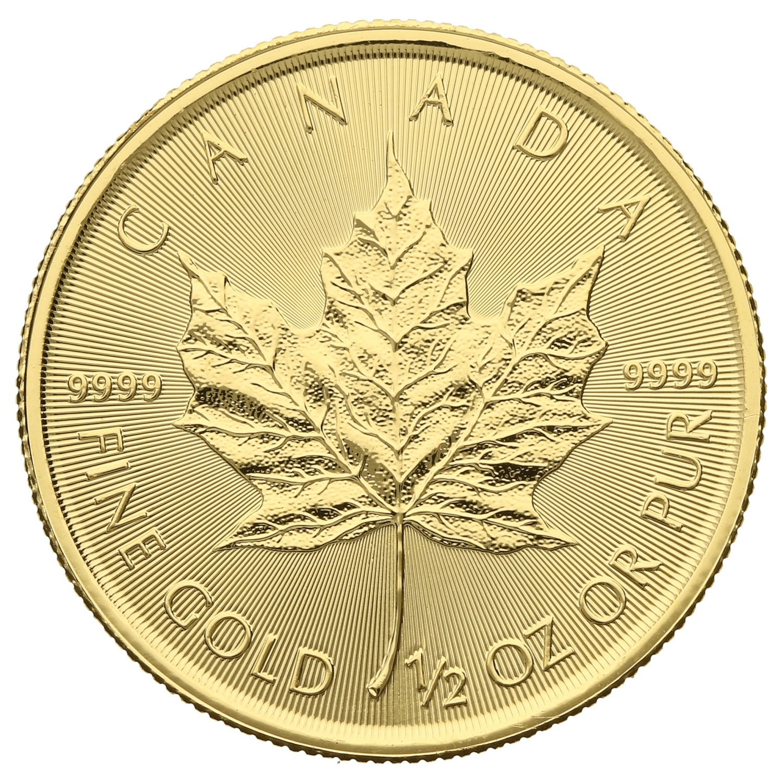 2019 Half Ounce Gold Maple