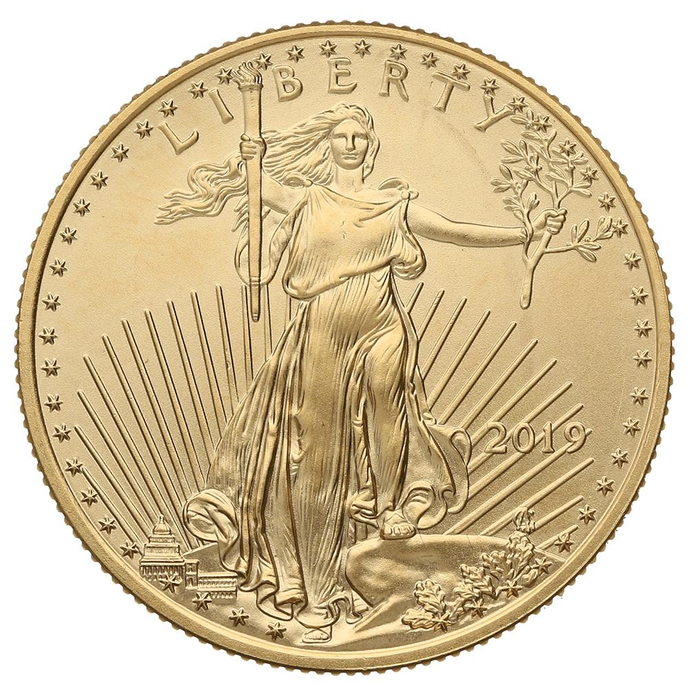 2019 Half Ounce American Eagle Gold Coin