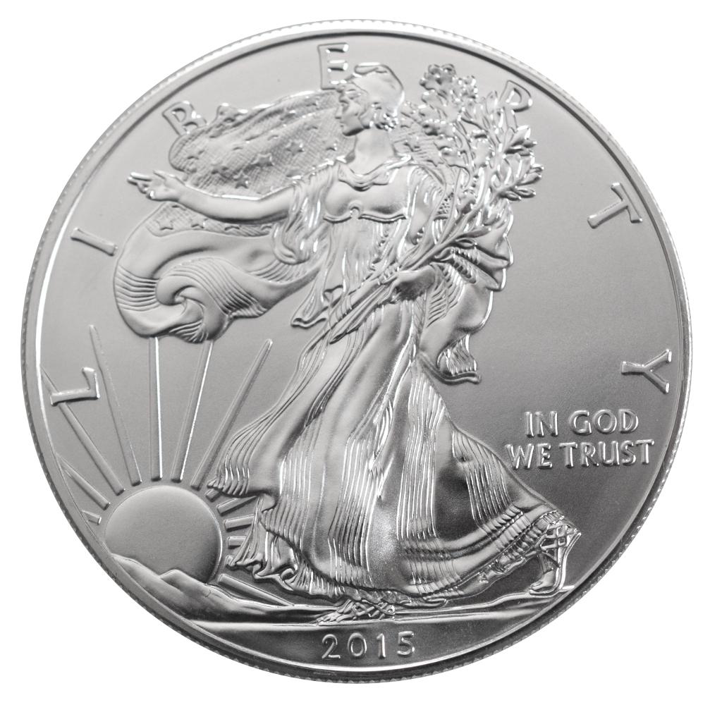 2015 1oz American Eagle Silver Coin