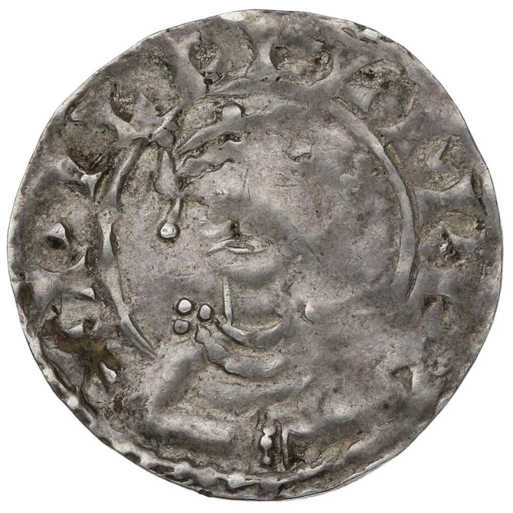 1066-1087 William I Hammered Silver Penny PAX Type - London Mint Edwine
