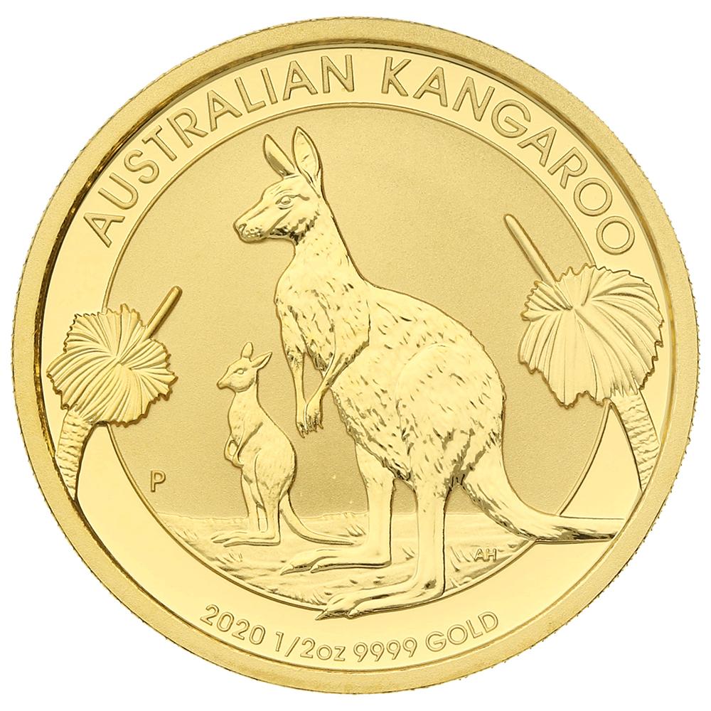 2020 Half Ounce Gold Australian Nugget