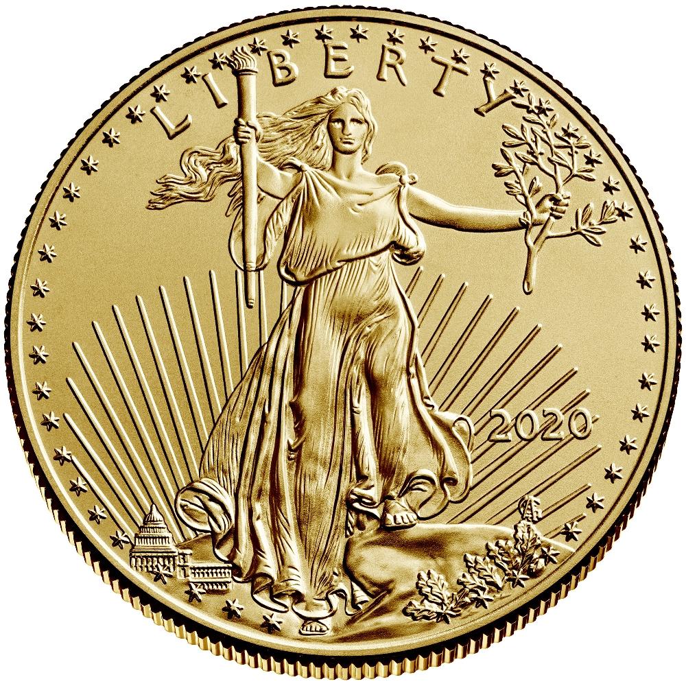 2020 Half Ounce American Eagle Gold Coin