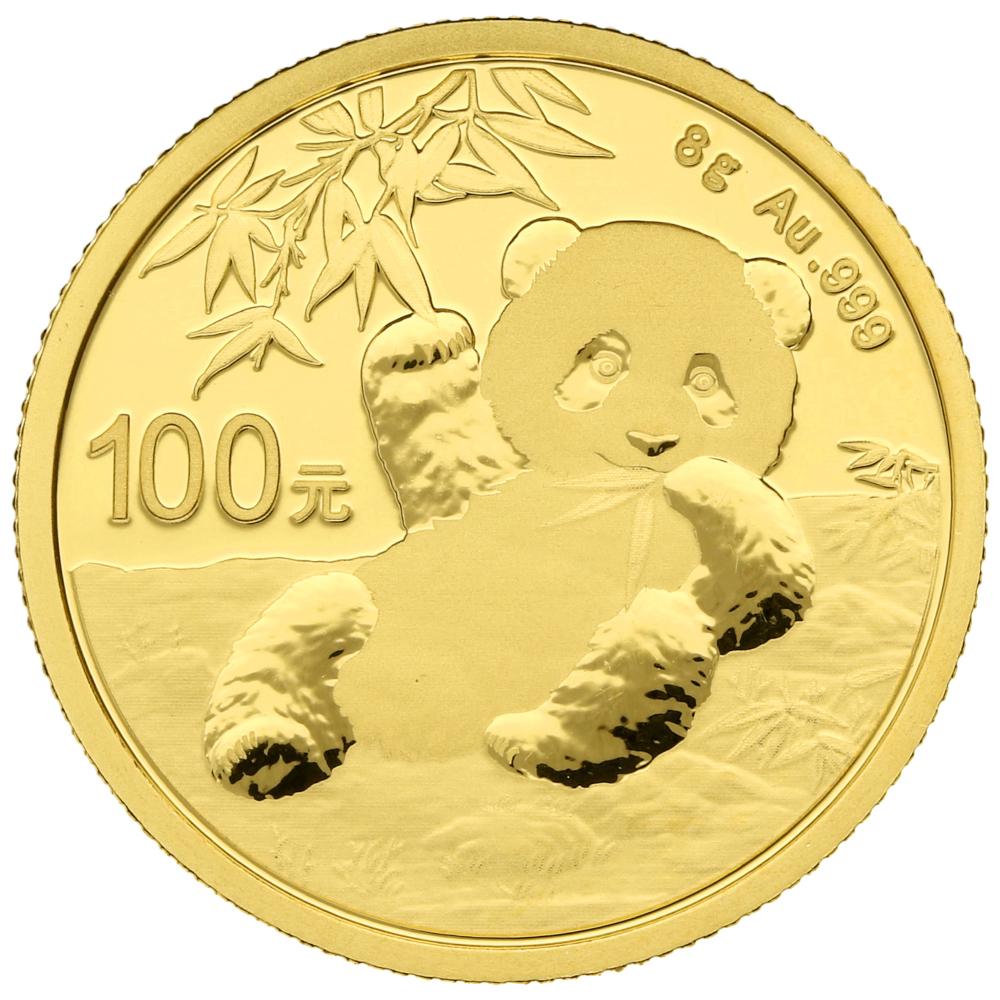 2020 8g Gold Chinese Panda Coin