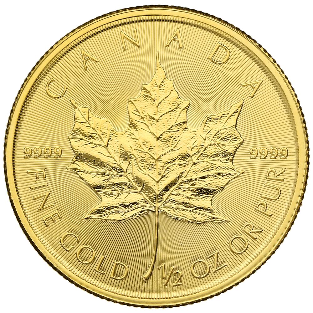 2020 Half Ounce Gold Maple
