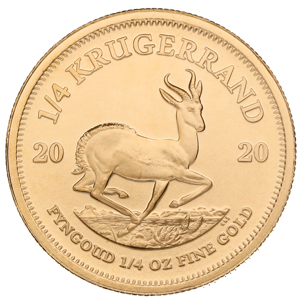 2020 Quarter Ounce Krugerrand Gold Coin