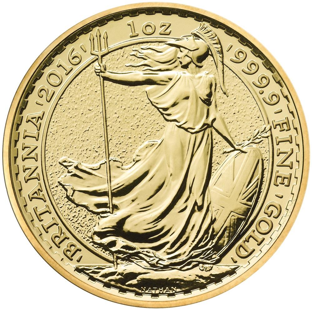 1oz Gold Britannia Best Value 24ct