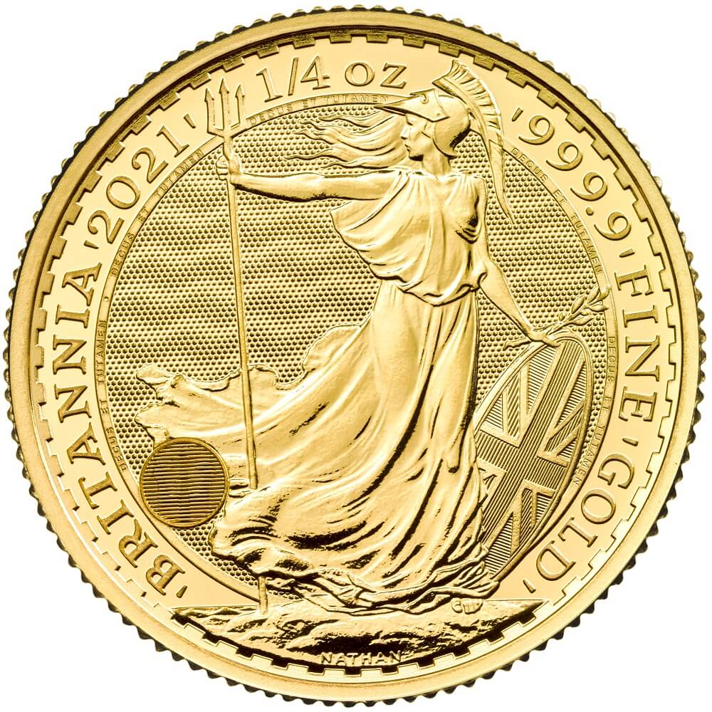 2021 Quarter Ounce Britannia Gold Coin