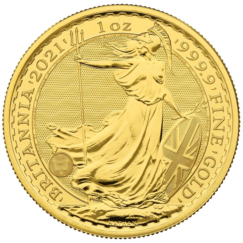 2021 Britannia One Ounce Gold Coin