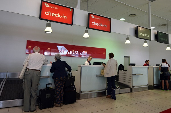 Virgin Australia Check in