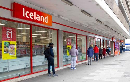 Iceland queues
