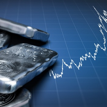 Silver price rising