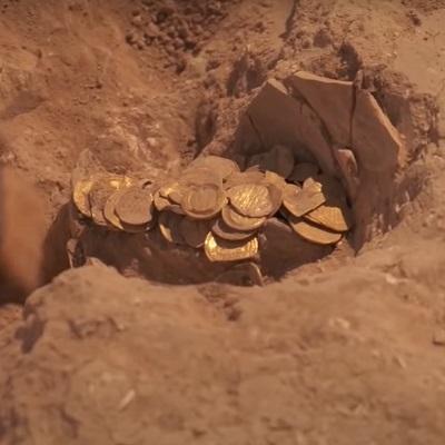 Israeli Gold Coin Hoard