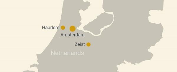 Dutch Bank Map