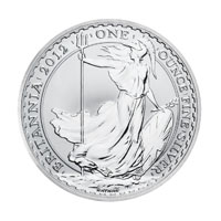 Royal Mint 1oz Silver Britannia Coin