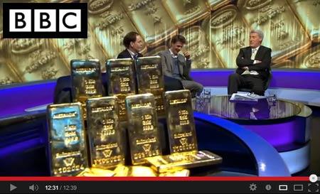 BullionByPost on BBC Newsnight