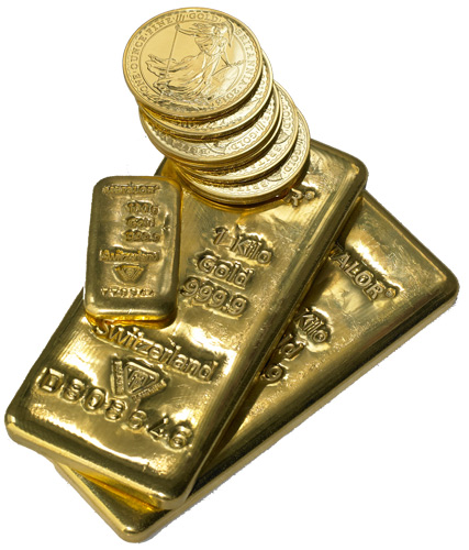 Hold physical gold outside the Banking System
