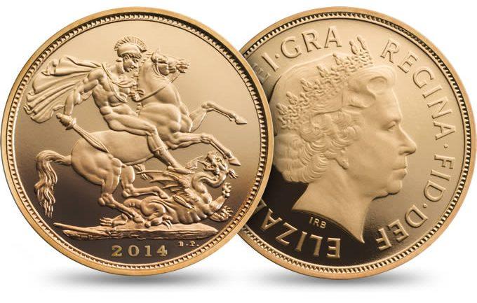 Royal Mint 2014 Sovereign