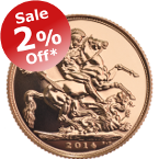 2% OFF 2014 Sovereigns