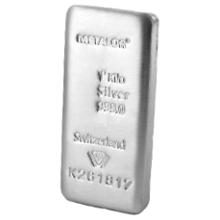 1kg Silver Metalor